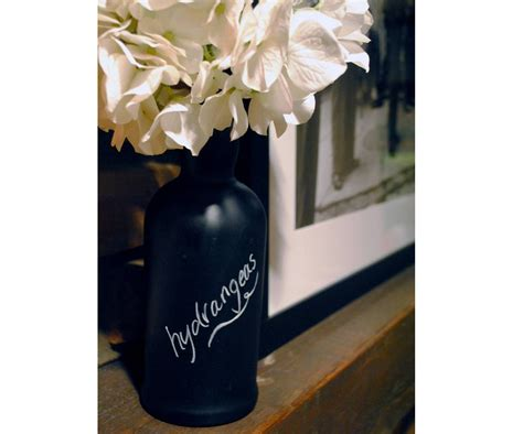 chalkboard paint vases how to decorate empty wine bottles with chalkboard paint
