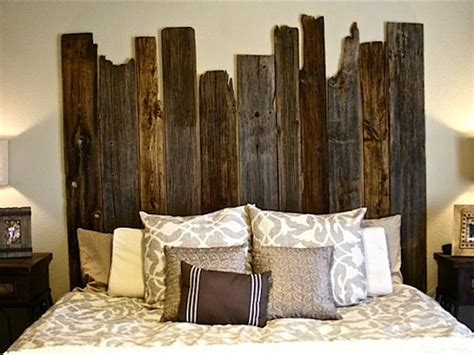 diy salvaged barn wood headboard barn wood headboard