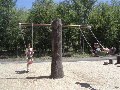 swing this tree trunk swing cre8play