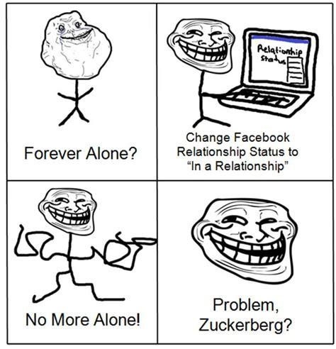 Forever Alone Meme Face - trollface kingplz deviantart