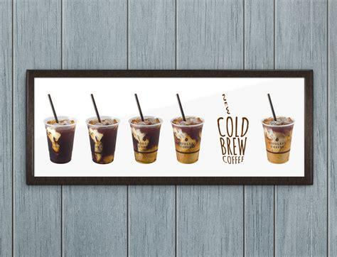 Fiddlers Coffee ? Cold Brew ? poster design « Micah Hansen