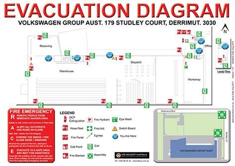 Evacuation Diagrams Evacuation Plans Emergency Diagrams Australia Evacuation Diagram Template Free