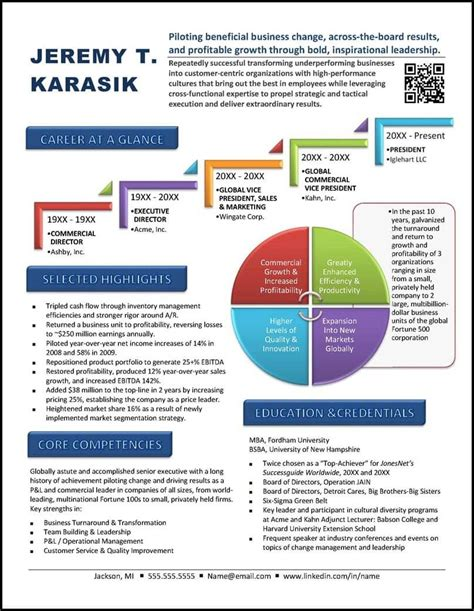 Graphic Resume by Graphic Resume Value Profile Exle 1 Resume Exles