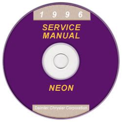 1996 dodge neon pl service manual on cd