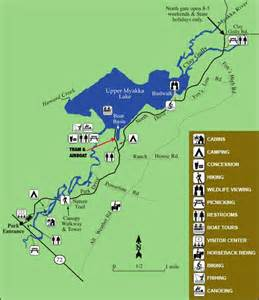 Florida State Park Map by Myakka River State Park Florida State Parks