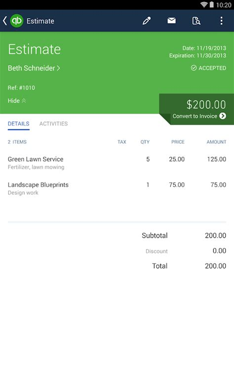 quickbooks for android quickbooks android apps on play