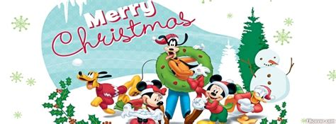 christmas disneyland facebook cover photo disney merry cover photo fbcover