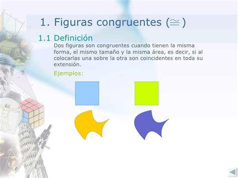 figuras geometricas congruentes congruencia de figuras planas