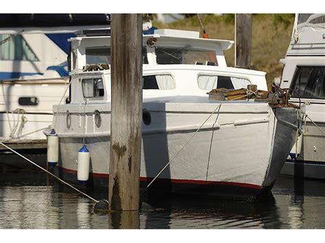 custom motorsailer timber cruiser  sale trade boats australia