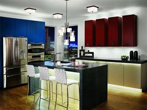 red and blue kitchen red white and blue kitchen decor american kitchen style