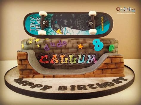Skateboard Cake   The Quirky Cake Society