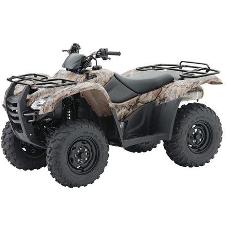 honda new four wheeler four wheelers for sale camouflage honda rancher 420 four
