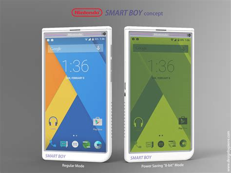 nintendo android nintendo smart boy concept is an android gamer s