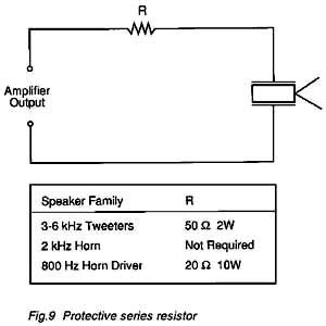 piezo resistor pulsar developments ltd piezo tweeter application note