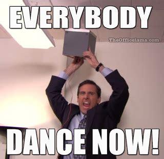 Dance Party Meme - the office isms memes funny pinterest memes office