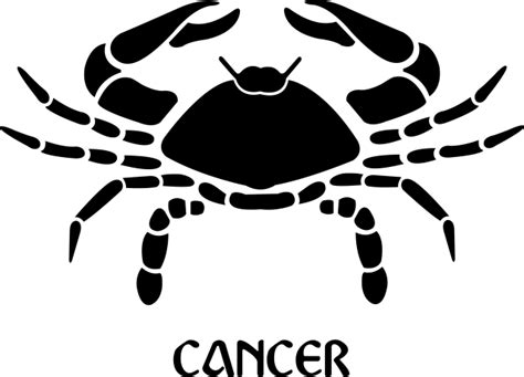 cancer zodiac sign symbol premium removable wall decal
