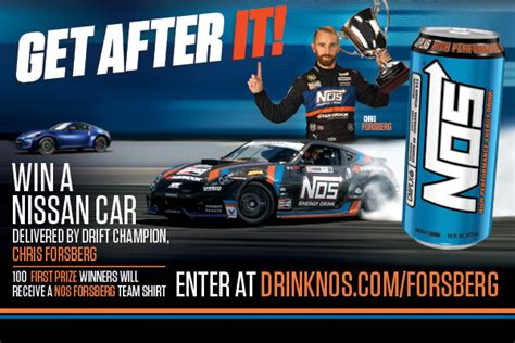 Sweepstakes Car Giveaway - nos energy drink car giveaway sweepstakes sweepstakesbible