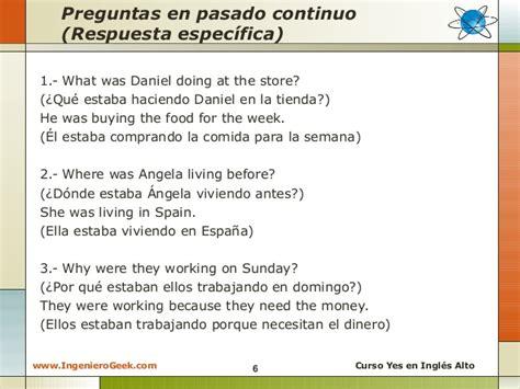 preguntas en presente perfecto en ingles afirmativas negativas y interrogativas 2 9 pasado continuo oraciones afirmativas negativas y