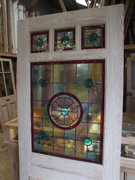 stained glass front door three one panel stained glass front door stained