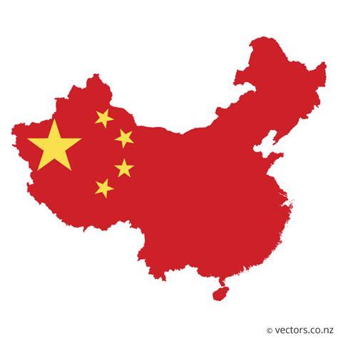 china map vector flag vector map of china vectors
