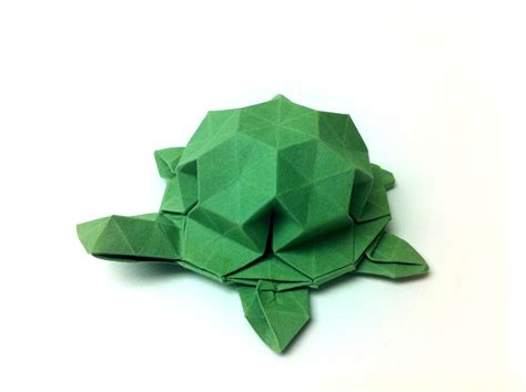 How To Make An Origami Tortoise - 3d origami turtle pictures to pin on pinsdaddy