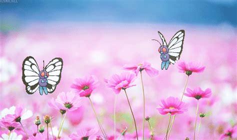 imagenes anime gratis paisajes animados con mariposas para descargar gratis