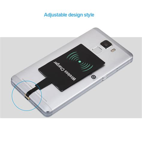 wireless phone charger for android z5 qi wireless charger 5v receiver adapter standard micro usb android cell phone