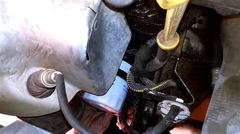 como hacer cambio de aceite filtro de aire  filtro del