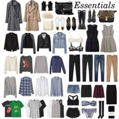Travel Wardrobe Essentials by Pin By Kasey On Style