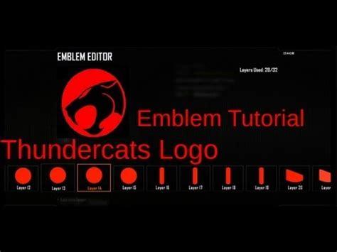 tutorial logo emblem full download black ops 2 thundercats logo emblem