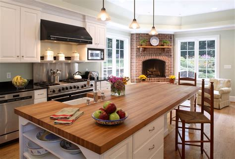superb butcher block island decorating ideas