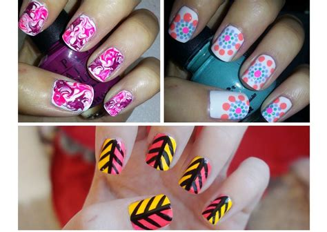 nail art tutorial for beginners at home easy nail art for beginners 3 youtube