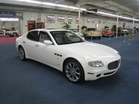 white maserati sedan 2007 maserati quattroporte 4 door sedan 177881