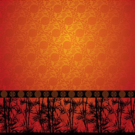 asian pattern ai chinese traditional bamboo pattern background