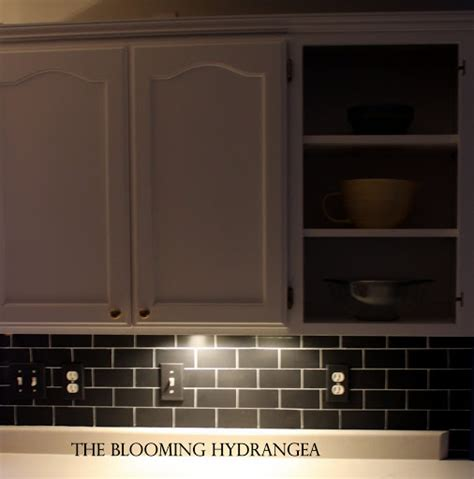 chalkboard subway tile backsplash my kitchen