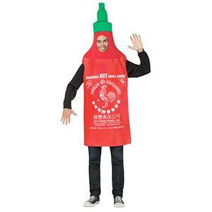 sriracha bottle cap sriracha sauce costumes sriracha heaven