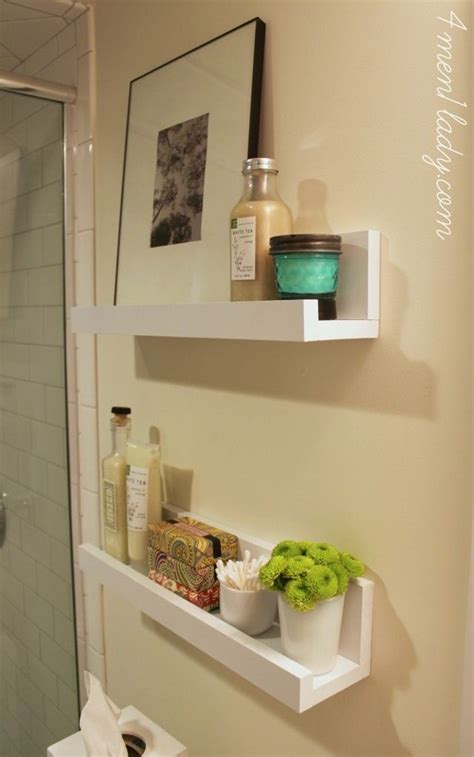 wall shelves in bathroom diy bathroom shelves to increase your storage space