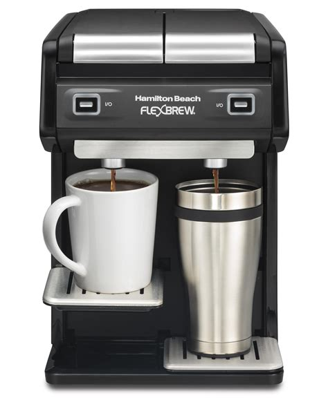 Amazon.com: Hamilton Beach 49998 FlexBrew Dual Single Serve Coffee Maker, Black: Kitchen & Dining