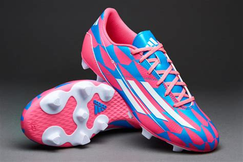 adidas soccer shoes adidas  fg firm ground soccer cleats neon pink running white solar
