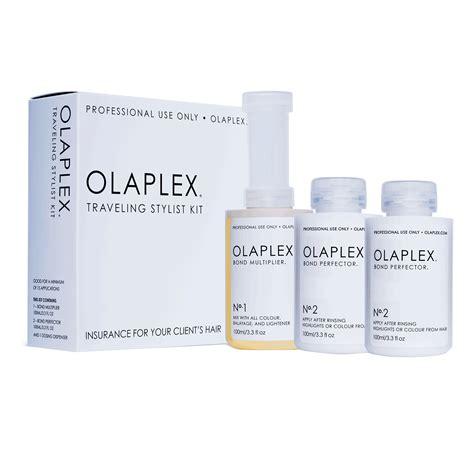 olaplex 3 how to use olaplex traveling stylist kit 30 applications olaplex