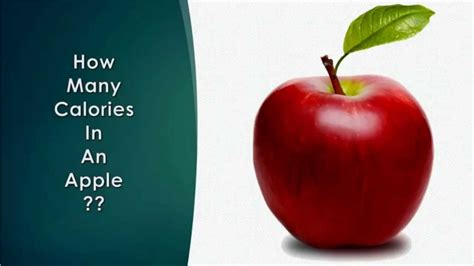 apple calories healthwise diet calories how many calories in an apple