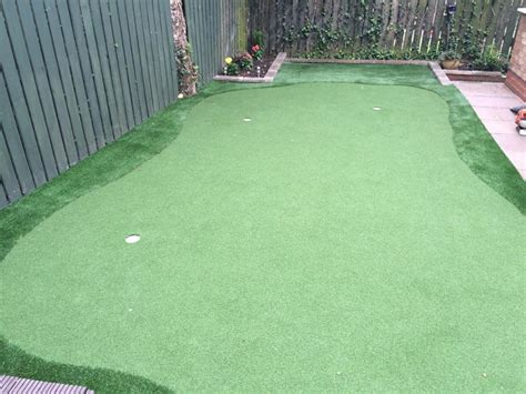 newest artificial grass putting green at houghton le spring