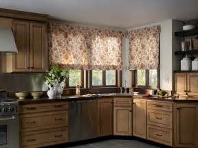 Pattern For Roman Shades - kitchen eye catching kitchen roman shade combined with wooden wall cabinets and dark themed
