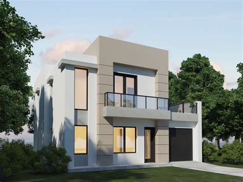 Modern House Designs Pictures Gallery | simple modern house plane modern house design exterior