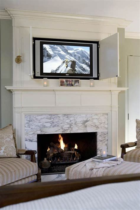 contemporary fireplace designs with tv above ward log homes 12 incredible solutions for tv over fireplace ideas home