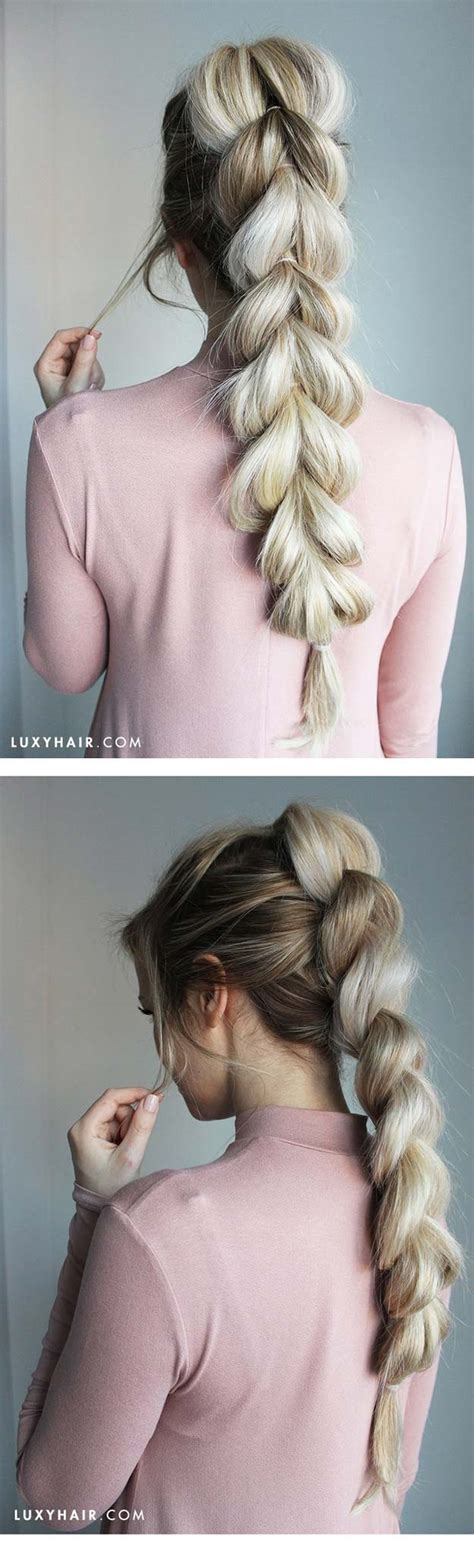 Hairstyles That Make Your Hair Look Longer by 21 Tips To Instantly Make Your Hair Look Thicker The Goddess