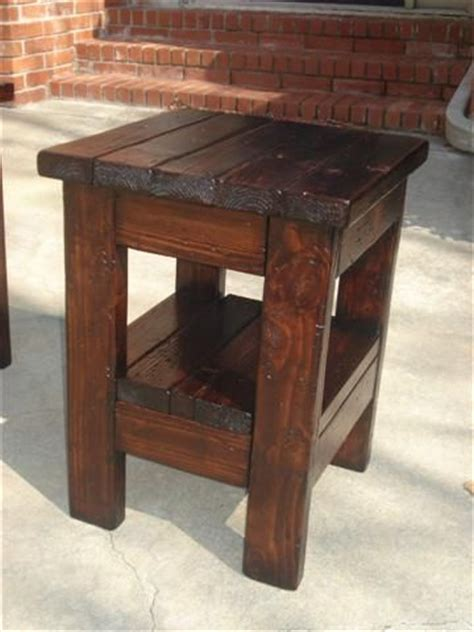 rustic home decor ana white diy shanty 2 chic best 25 rustic end tables ideas on pinterest farmhouse