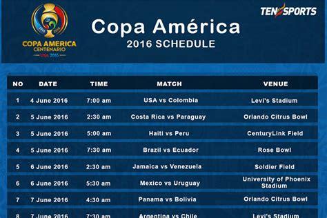 printable schedule copa america 2015 2015 copa amrica wikipedia autos post