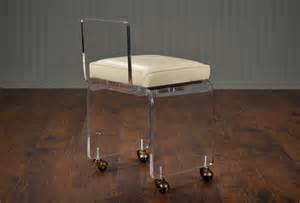 small acrylic vanity stool mecox gardens