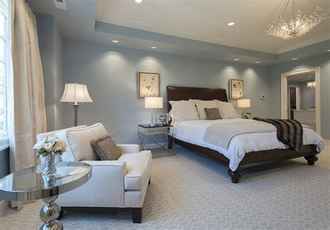 Light Blue Master Bedrooms Bedroom Window Treatment Ideas Featured In Light Blue